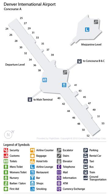 Cheap Airport Car Rental Deals At Denver Intl, USA (DEN
