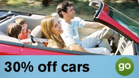 Rental Cars save up to 25%