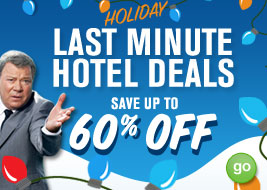 last minute Holiday Hotel Deals Save up to 60% off GO