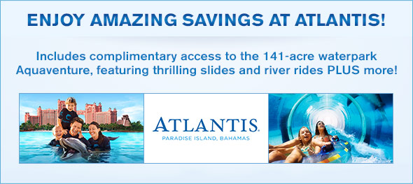 Image result for atlantis vacations advertising