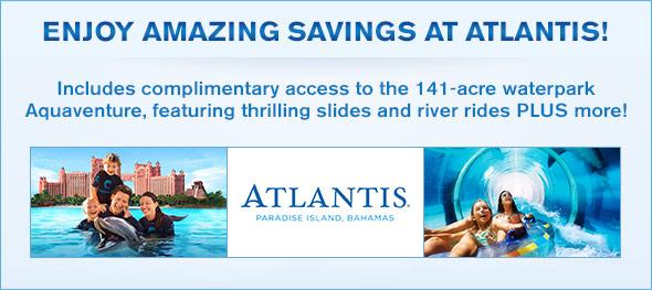 The Cove Atlantis Logo at The Cove Atlantis