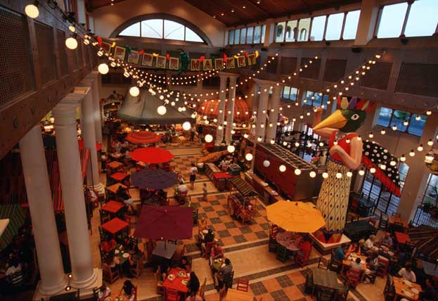 Disney S Coronado Springs Resort Hotel Lake Buena Vista