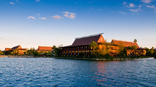 Disney S Polynesian Village Resort Hotel Lake Buena Vista