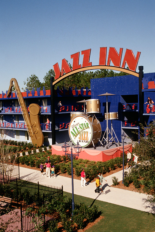 Disney S All Star Music Resort Hotel Kissimmee