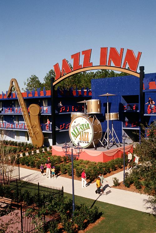 Disney S All Star Music Resort Kissimmee Fl United